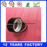 cinta de la película de Polyimide del negro del silicón del 100m
