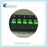 1*16 PLC Splitser 19 Rek 1u Sc/APC 1X16