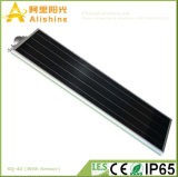 integrierte bester Preis 40W alle in einem Solarstraßenlaternemit PIR Fühler