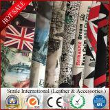 Couro impresso personalizado, impressão digital em couro de PVC para sacos, sapatos, carteiras, cintos, decoração, caderno