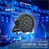 Lâmpada de néon do diodo emissor de luz da mini PARIDADE do diodo emissor de luz da iluminação da mostra do estágio dos clubes 18*1W