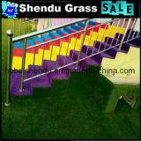 緑の総合的な草120stitch/Mとの30mm