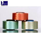 Hilo de filamento de poliéster Dopaje teñido FDY 20d / 12f Hilo de filamento especial
