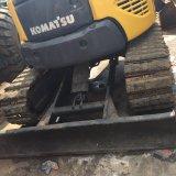 Excavador de Japón KOMATSU PC55mr de la venta con la correa eslabonada de goma para la venta