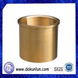 De Douane CNC die van de productie de Van een flens voorzien Olie Gegroefte Ring van het Messing draaien