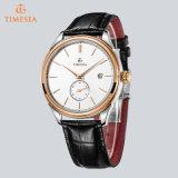 Qualitäts-Quarz-Uhr, lederne Uhr-Männer 72655