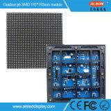 Parede ao ar livre do diodo emissor de luz do arrendamento da cor cheia de P6 SMD com FCC