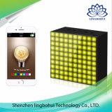 LEDの製図版が付いているAuraboxのスマートな無線携帯用スピーカー