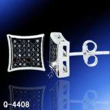 Fabbrica d'argento Hotsale dei monili degli orecchini del diamante di modo