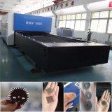 Maquinaria da estaca do laser da fibra do metal de folha do CNC com preço de fábrica