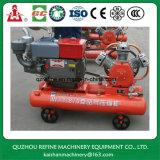 Compressor de ar portátil Diesel W-1.8/5 do pistão do tipo 15HP 5bar de Kaishan