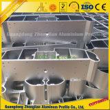 Customzied는 분말 코팅 알루미늄 단면도 CNC를 양극 처리했다