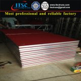 4X8FT bewegliches Aluminiumstadium mit rotem Teppich für Hochzeitsfest