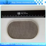 Disco rectangular del filtro del acero inoxidable