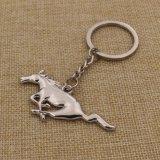 Mustang feito sob encomenda Keychain do metal dos presentes da promoção para relativo à promoção