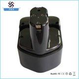 Замена 12V 3000mAh Ni-MH батареи електричюеского инструмента для Хитачи Hit-12 (b)