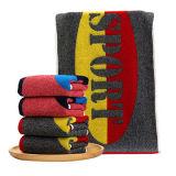 さまざまなデザインのスポーツタオル