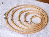 고품질 대나무 자수 굴렁쇠