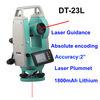 上向き及び下りレーザーポイント調査器械との30X Dt23Lデジタルレーザーのセオドライトの容易な操作