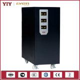 Трехфазное управление стабилизатора 15kVA MCU напряжения тока