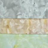 Кожа PVC PU PU горячего сбывания новая мраморизуя Semi декоративная