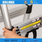 escala telescópica lateral doble de aluminio del 1.9+1.9m