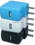 高品質のセリウムの承認旅行プラグ力のアダプターUSBのポータブルの充電器