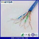 Cat5e de calidad superior 24AWG Cable CAT6&#160 del establecimiento de una red; Cable de LAN descubierto sólido del cobre los 300m
