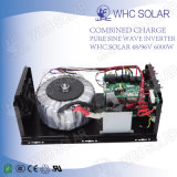 Inversor solar 6000W da homenagem solar de Whc com tela do diodo emissor de luz