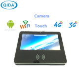 Monitor del PC de sobremesa de la pantalla táctil de 18.5 pulgadas con la huella digital de la cámara NFC para la escuela
