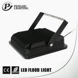 Risparmio di potere Sanan 20W quadrato 120° Illuminazione di alluminio LED dell'inondazione di angolo a fascio