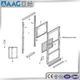 Pièces de guichet en aluminium/accessoires en aluminium de porte