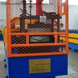 V形の鋼鉄谷の溝のRollformer機械