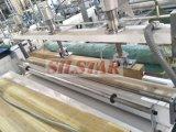 Doppelte Plastiktasche der Falten-(Falte fold/C-fold), die Maschine herstellt