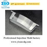 Recinto plástico Handheld redondo del carril del estruendo
