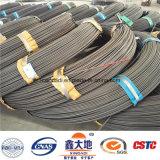 alambre de acero pretensado 1670MPa de 4m m
