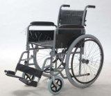 Transito d'acciaio, pieghevole, sedia a rotelle, (YJ-008E)