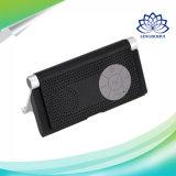 Support portable haut-parleur stéréo Bluetooth avec support pour téléphone mobile