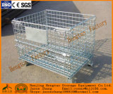 Paniers soudés stockage Pliable Wire Mesh Containers Entrepôt