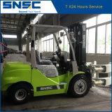 Forklift Diesel 3ton da braçadeira de papel do rolo