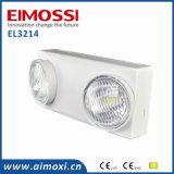 120min 2 * 3W COB LED de iluminación de emergencia Twinspot