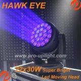 B- головка мытья глаза СИД хоука глаза 22X30W Moving