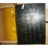 Chepa de goma durable de la velocidad del coche de la seguridad en el trabajo de Pressureproof (CC-B04)