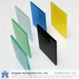標準サイズの明確なか染められたPVBによって薄板にされる安全ガラス