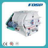 Misturador dobro da alimentação do eixo da máquina de mistura do misturador da alimentação
