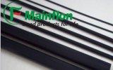 Barre de Rod de teflon remplie par graphite (MF)