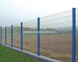 PVC上塗を施してある粉によって塗られる電流を通された金属線の網の囲うこと