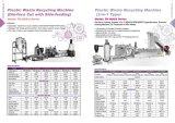 Catalogue d'usine de réutilisation en plastique