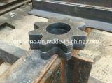 Máquina de estaca do plasma para a chapa de aço e a tubulação do metal