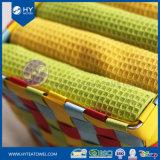 Yarn-Dyedワッフルの織り方の綿の台所ふきんのパッキング